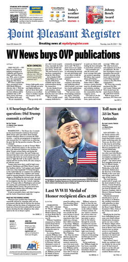Buy a copy of the Point Pleasant Register - The Point